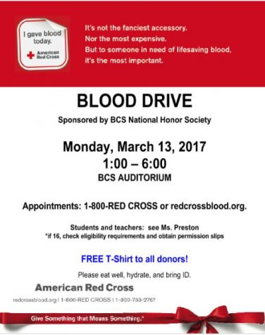 10 Reasons to Donate Blood on March 13th