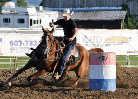 Davis Wins Horse Show Events