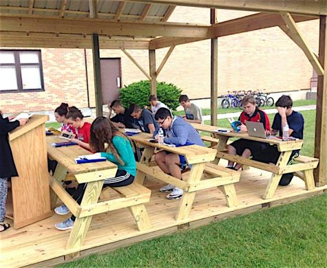 Outdoor Classroom Completed