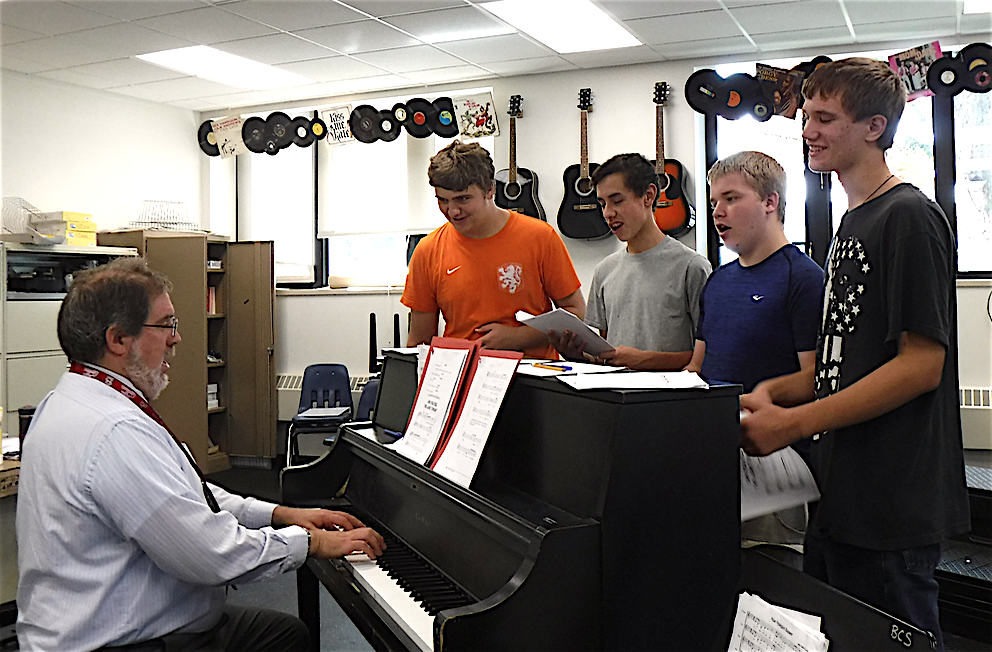 Mr. Struckmann:  New Music Teacher