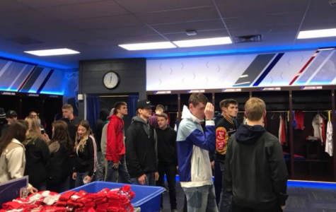 Students Tour New Era Field, Learn About Sports Management