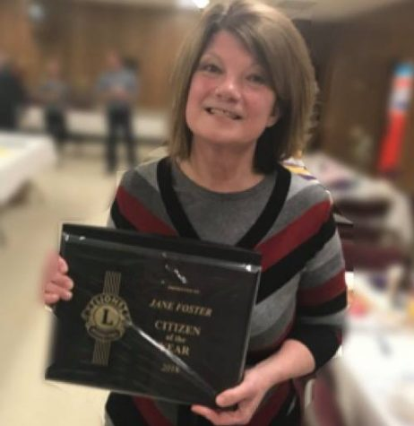 Foster Recognized as Lion's Club Citizen of the Year